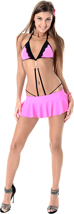 Melena Maria Rya Fabulous Flamingo  istripper model